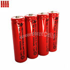 4 pcs AA LR06 3000mAh 1.2V NI-MH rechargeable battery CELL/RC MP3 2A SILVER RED