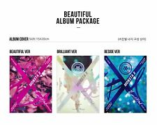 "MONSTA X 1st Album ""BEAUTIFUL"" 3 Ver. SET CD+Post Photo+booklet+Photocard+Poster"