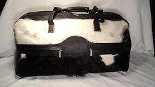 """Passage 2 1115 Hair On Calf Carry On 22"""" Duffle Bag"""