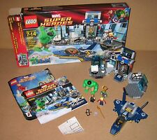 6868 LEGO Hulk's Helicarrier Breakout 100% cmplete box Instructions EX COND 2012