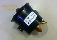 70mm 12 -Blade 2600KV 3S- 4S Fan Duct 2839 Motor Brushless For Jet EDF Air Plane