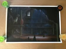 BATCAVE by JC RICHARD ARTIST PROOF VARIANT EDITION! #3 of 30! poster print mondo