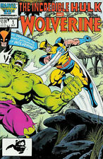 INCREDIBLE HULK AND WOLVERINE #1 VERY FINE / NEAR MINT MARVEL COMICS 1986