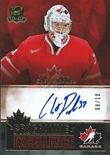 (HCW) 2012-13 The Cup Programme of Excellence CHET PICKARD 8/10 Auto Signature