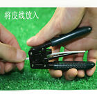 New Fiber Optic Tool Wire Plastic Cable Stripper Stripping Pliers FTTH AU