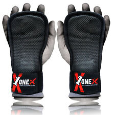 Weight Lifting Gym Hand Grips Palm Gel Pad Wrist Support Straps Training Gloves.