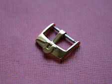VINTAGE 18MM OMEGA YELLOW GOLD WATCH STRAP BUCKLE
