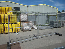 Heras Site Temporary Fencing Vehicle Gate x 2