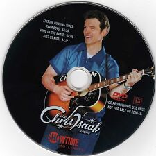 THE CHRIS ISAAK SHOW Official Promoptional DVD, 3 episodes from Season 2 ~ RARE