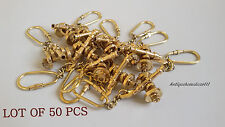 Collectible Brass Marine Nautical CANON Key Chain Golden Finish Lot Of 50 Pcs...