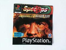Jaquette Avant/Front Cover Spec ops ranger elite Sony Playstation 1 PAL FR