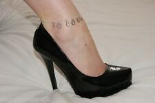 Premium 'I  3 COCK' Hotwife Anklet Ankle Chain Jewellery Cuckold Big Cock Lover