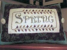 SPRING IN BLOOM SAMPLER-CROSS STITCH-WIDGETS & WOOL PRIMITIVES