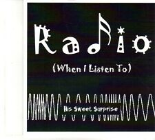 (DP750) His Sweet Surprise, Radio (When I Listen To) - 2013 DJ CD