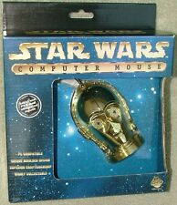 Star Wars C-3P0 Figural PC Mouse Mint In Box