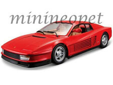 BBURAGO 18-26014 FERRARI TESTAROSSA 1/24 DIECAST MODEL CAR RED