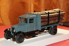ZIS-12 Timber with a trailer and Wood truck 1:43 USSR car Lomo