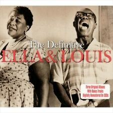 The Definitive [Ella Fitzgerald/Louis Armstrong] [3 discs] New CD