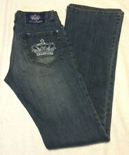 Victoria Beckham Blue Crown By Rock Republic womens RN110113 Size 27