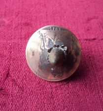 WW1 1917 DATED BRITISH PENNY WITH BULLET THROUGH THE COIN - TRENCH ART STYLE