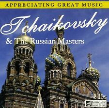 2 CD BOX APPRECIATING MUSIC TCHAIKOVSKY & THE RUSSIAN MASTERS RIMSKY-KORSAKOV