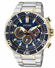 CITIZEN Eco-Drive Bicolor Herrenchronograph Chrono CA4254-53L