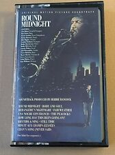 Round Midnight, Orig. film soundtrack, jazz Cassette,1986 CBS, C Baker, Hancock