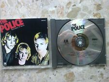 POLICE - OUTLANDOS D'AMOUR - CD (1978) ???? EUROPE/GERMAN press NEAR MINT sting