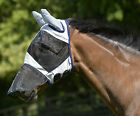 Masta Fly Bug Mask, Face Cover, Ears, & Nose Cover Protection for Horses