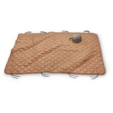 Military Style Poncho Liner Camping Blanket - Woobie Coyote Tan