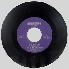 VITO & SALUTATIONS: I'd Best Be Going SANDBAG NM Stock 45 Soul Doo Wop HEAR