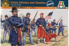 ITALERI 6012 1/72 Infanterie de l'Union et Zouaves - Union Infantry and Zouaves