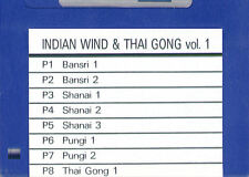 Floppy SOUND DISK for ROLAND W-30 - Indian Wind & Thai Gong 1