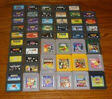 Lot of 52 Nintendo Game Boy, Color, Advance video games, TESTED!