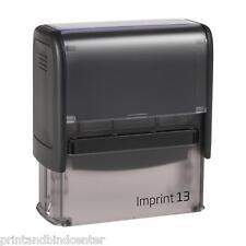 Stempel Selbstfärber TRODAT Imprint 13 5-6 Zeilen mit Wunschtext / Logo