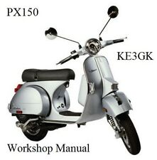 Vespa PX150 Workshop Manual CD