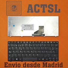 TECLADO ESPAÑOL PARA ACER ASPIRE ONE D255E AOD255E KEYBOARD SPANISH Negro Black