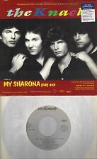THE KNACK  My Sharona / SQUEEZE  Tempted  rare soundtrack 45 with PicSleeve
