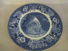 F3 Adams Pottery Staffordshire Pipe Organ Howe Caverns NY Souvenior Plate