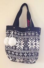 AEROPOSTALE BLACK & WHITE TOTE BAG  NEW WITH TAGS