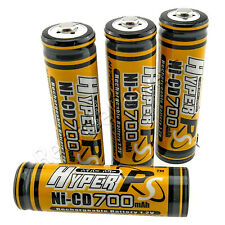 4 x AA 700mAh 1.2V NI-CD rechargeable battery CELL RC 2A KR6 HYPER PS