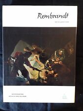REMBRANDT-TEXT BY LUDWIG MUNZ-HC--ABRAMS PUBLISHER -LIKE NEW