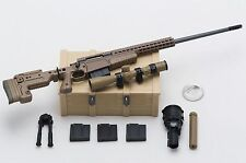 1/6 Easy Simple Marsoc MSOT Recon Sniper MK13 MOD7 Rifle Set *TOY*