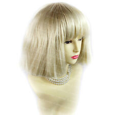 Wild Beautiful SEXY Short Curly Wig Pale Blonde Ladies Wigs from WIWIGS UK