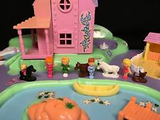 Polly Pocket Mini �� 1991 Polly's Dream World Spielwelt Traumland Stadt Town 25