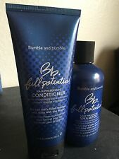 Bumble & Bumble Full Potential Shampoo & Conditioner 8.5oz 6.7 NEW / Unused!!