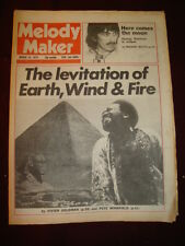 MELODY MAKER 1979 MAR 10 GEORGE HARRISON EARTH WIND & FIRE UNDERTONES TOTO ROXY