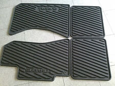 Subaru OEM 2001 - 2004 Legacy and  Outback Rubber All Weather Floor Mats Set