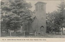 Little Brown Church in the Vale, Nashua, near Charles City, Iowa in Early 1900's