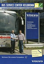 Prospekt Volvo Bus Service Center Heilbronn 2006 Busprospekt Omnibus Broschüre